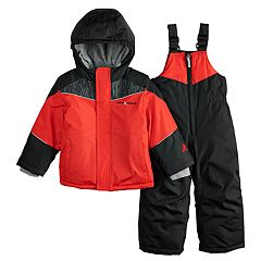 Toddler Boy ZeroXposur Carter Heavyweight Hooded Jacket & Bib Snow Pants Set