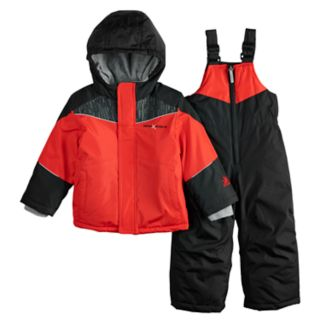 Toddler Boy ZeroXposur Carter Heavyweight Hooded Jacket & Bib Snow Pants Set