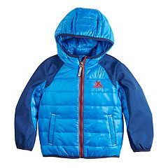 Toddler Boy ZeroXposur Deacon Quilted Hybrid Midweight Jacket