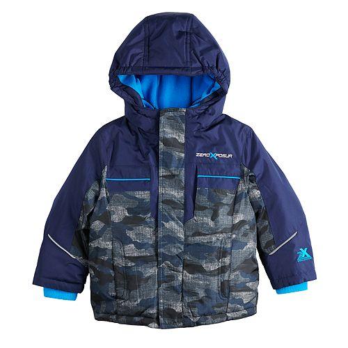 Toddler Boy Zeroxposur Felix Camouflaged Heavyweight Jacket