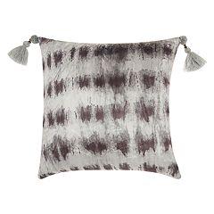 Mina Victory Life Styles Velvet Tie Dye Throw Pillow
