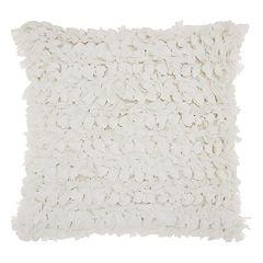 Mina Victory Paper Loop Shag II Throw Pillow