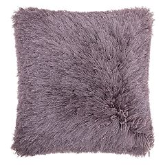 Mina Victory Yarn Shimmer Shag II Throw Pillow