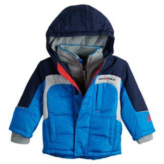 Baby Boy Mini ZeroXposur Cole Reflective Heavyweight Jacket