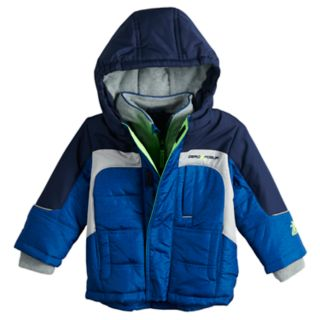 Baby Boy Mini ZeroXposur Cole Reflective Heavyweight Jacket
