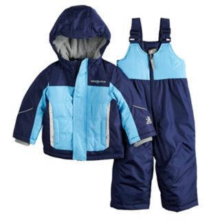 Baby Boy Mini ZeroXposur Bryce Reflective Heavyweight Jacket & Bib Snow Pants Set