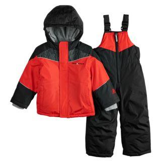 Baby Boy Mini ZeroXposur Carter Heavyweight Hooded Jacket & Bib Snow Pants Set