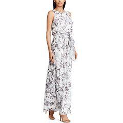`Women's Chaps Floral Maxi Dress