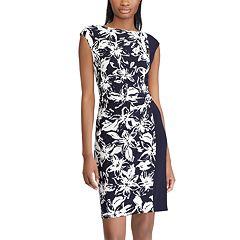 Women's Chaps Floral Colorblock Sheath Dress