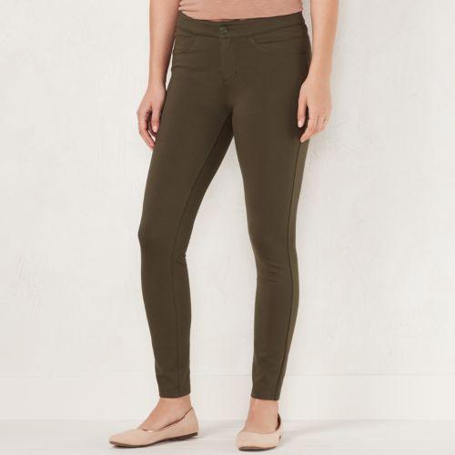 Women's LC Lauren Conrad Skinny Ponte Pants