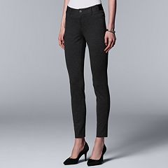 Women's Simply Vera Vera Wang Everyday Luxury Ponte Skinny Pants