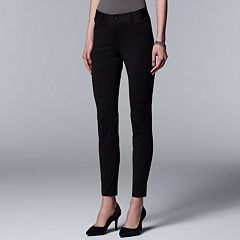 1e2ef32442db8 Women s Simply Vera Vera Wang Everyday Luxury Ponte Skinny Pants