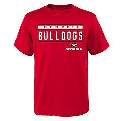 Boys' 4-18 Georgia Bulldogs Regeneration Tee
