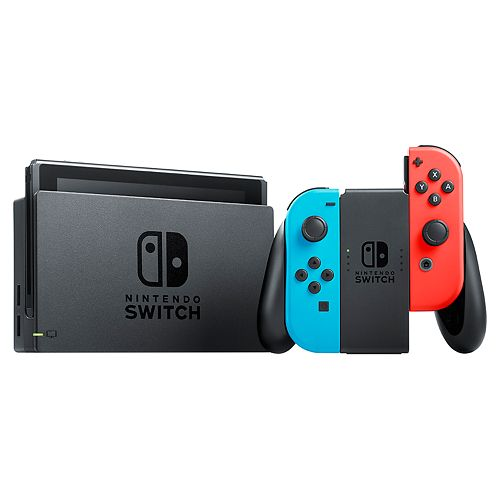 Nintendo Switch Console & ZTEK Charging Case