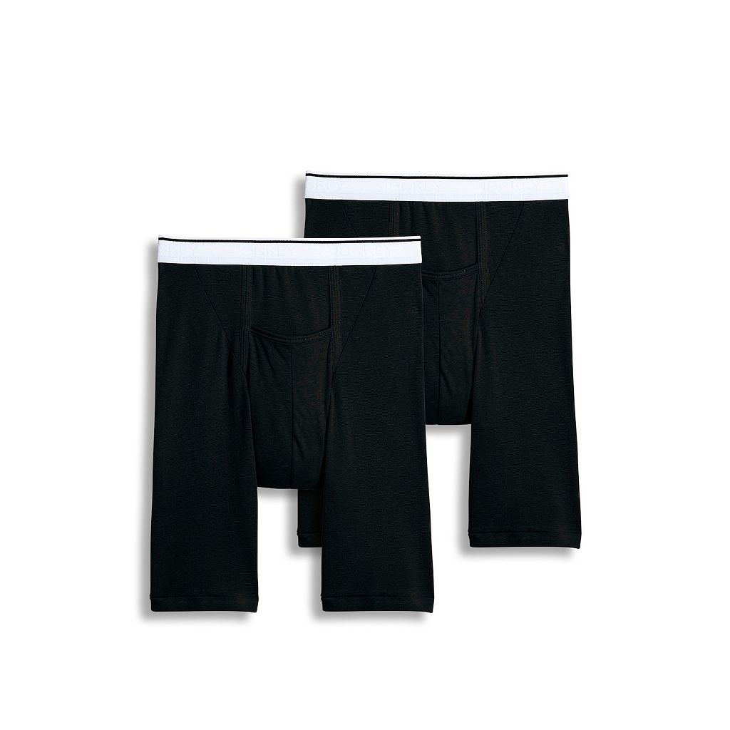 Men's Jockey 2-pk. Pouch Stretch H-Fly Full Rise Midway Briefs
