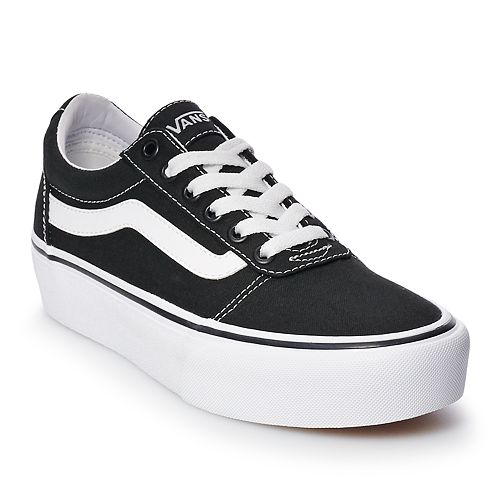 0de619472e2dea Vans Ward Women's Platform Skate Shoes