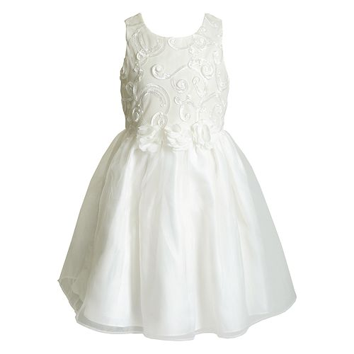 Girls 4-6x Youngland Floral & Scrollwork Dress