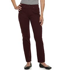 Women's Croft & Barrow® Classic Stretch Straight-Leg Jeans