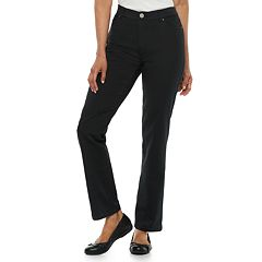 53d14f239c28d Women's Croft & Barrow® Effortless Stretch Straight-Leg Pants