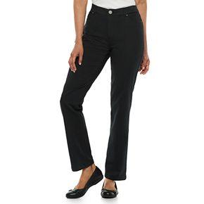 Women's Croft & Barrow® Effortless Stretch Straight-Leg Pants