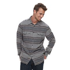 Men's SONOMA Goods for Life™ Modern-Fit Plaid Flannel Button-Down Shirt
