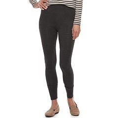 Women's Croft & Barrow® Tummy Control Pull-On Leggings