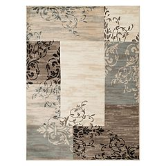 United Weavers Tiffany Laramie Patchwork Scroll Rug