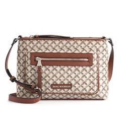 Dana Buchman Curlew Chain-Link Jacquard Crossbody Bag