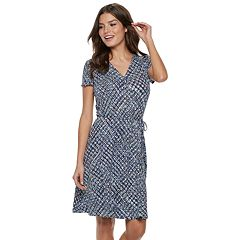 Women's Apt. 9® A-Line Wrap Dress