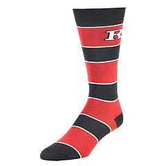Men's Mojo Rutgers Scarlet Knights Class Act Crew Dress Socks