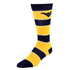 Men's Mojo West Virginia Mountaineers Class Act Crew Dress Socks