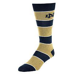 Men's Mojo Notre Dame Fighting Irish Class Act Crew Dress Socks