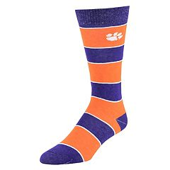 Men's Mojo Clemson Tigers Class Act Crew Dress Socks