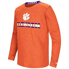 Boys 8-20 Clemson Tigers Wordmark Tee