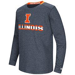 Boys 8-20 Illinois Fighting Illini Wordmark Tee