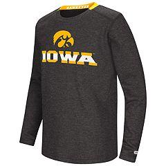 Boys 8-20 Iowa Hawkeyes Wordmark Tee