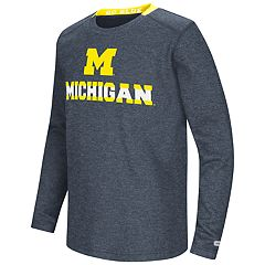 Boys 8-20 Michigan Wolverines Wordmark Tee
