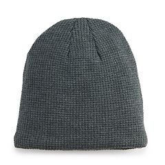 Mens Grey Beanie Winter Hats - Accessories  e3e8383e092