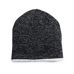 Men s Pipeline® Sherpa-Lined Fleece Beanie. Charcoal Gray Navy Olive Black  ... b1b18ce6f1a
