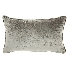 Mina Victory Trendy, Hip, & New Age Metallic Fish Tail Oblong Throw Pillow
