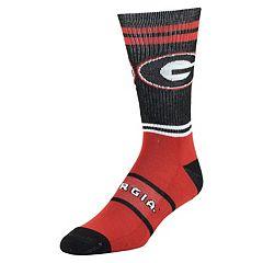 Men's Mojo Georgia Bulldogs Got Game Crew Socks