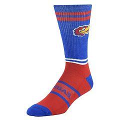 Men's Mojo Kansas Jayhawks Got Game Crew Socks