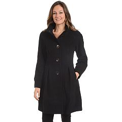Women's Fleet Street Pleated Wool Blend Jacket