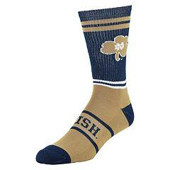 Men's Mojo Notre Dame Fighting Irish Got Game Crew Socks