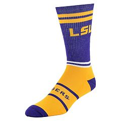Men's Mojo LSU Tigers Got Game Crew Socks