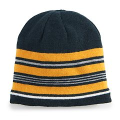 Men's Urban Pipeline™ Striped Sherpa-Lined Beanie