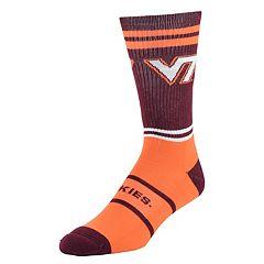 Men's Mojo Virginia Tech Hokies Got Game Crew Socks