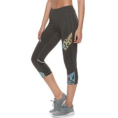 Women's FILA SPORT® Reflective Capri Leggings