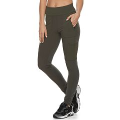 Women's FILA SPORT® Woven Blocked Midrise Leggings