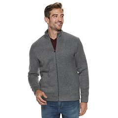 Men's Apt. 9® Herringbone Sherpa-Lined Jacket